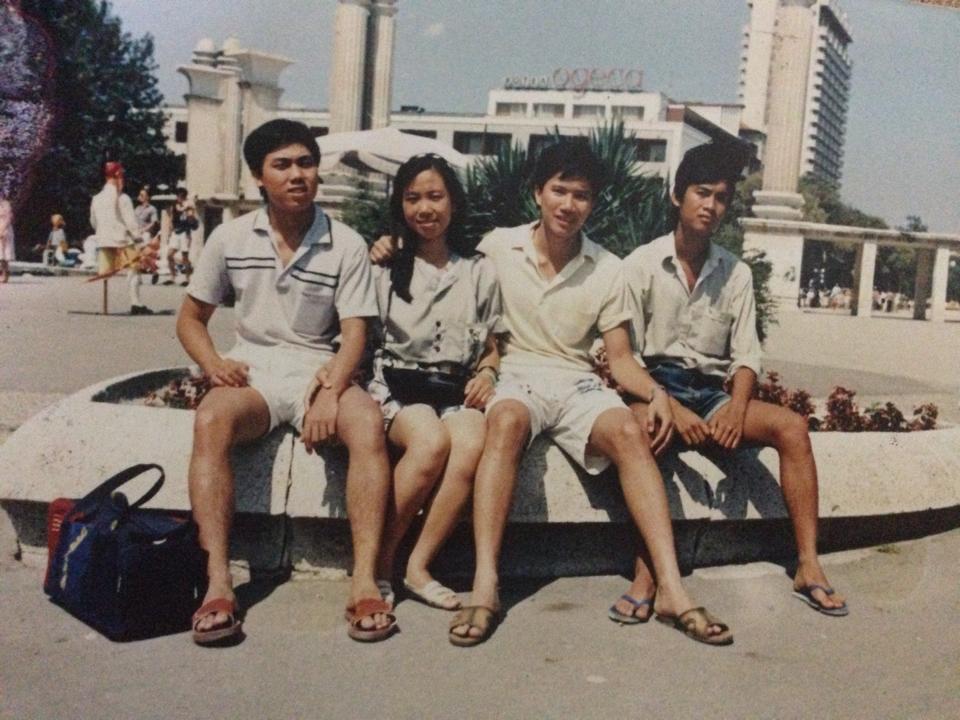 Thơ tặng thầy Leo Hung - Варна 1990