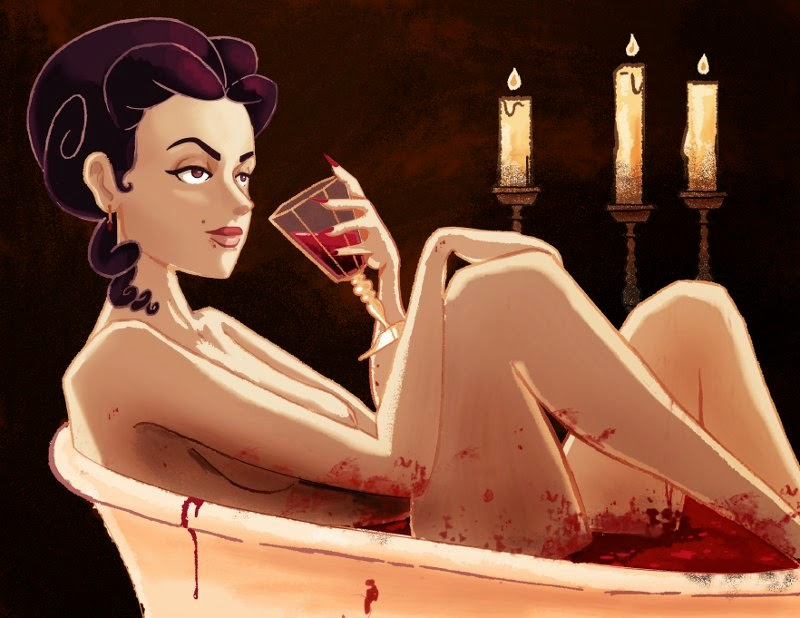 Mỹ nhân đẹp nhất châu Âu tắm máu trinh nữ để mãi trẻ trung