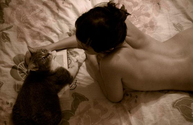 Em sợ nghèo tôi không sợ mèo