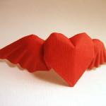 Vâng hâm mặc kệ tôi hâm - Gấp giấy hình trái tim